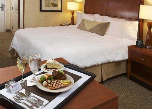TripAdvisor announced its 2014 TripIndex Room Service. (A TripAdvisor traveler photo)
