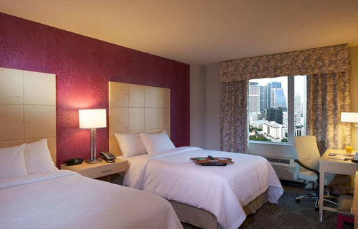 Hampton Inn & Suites Miami/Brickell-Downtown in Miami, FL is one of the top green hotels in the U.S., according to TripAdvisor. (A TripAdvisor traveler photo)