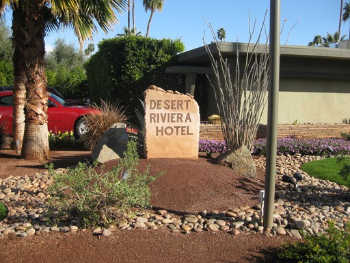 Desert Riviera in Palm Springs, CA is the #1 U.S hotel for service, according to the TripAdvisor Travelers' Choice Hotels with Exceptional Service. (A TripAdvisor traveler photo)