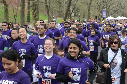 Join the fight against pancreatic cancer on April 12th at PurpleStride NYC 2014!