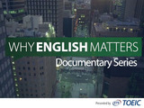 Why English Matters Introduction