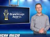 KBB.com's Micah Muzio presents the 2014 Brand Image Award winners.