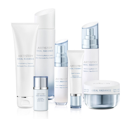 The Ideal Radiance collection takes a holistic and comprehensive approach to skin brightening