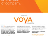 ING U.S. , Inc. became Voya Financial, Inc. on April 7 as part of a phased rebranding effort. The company will begin advertising the change in trade media in May.  Consumer advertising will follow when Voya completes its rebranding later this year.