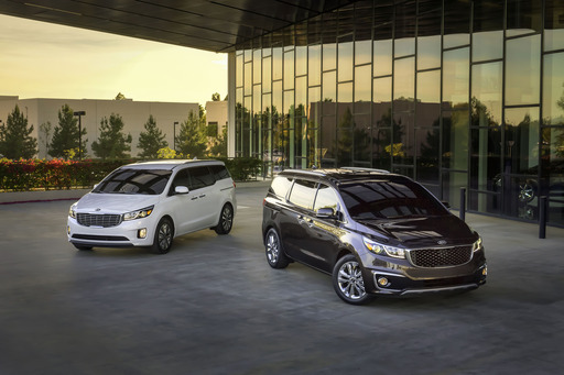 All-new 2015 Kia Sedona makes its global debut in the Big Apple.