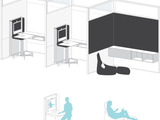 Small private spaces can provide respite, focus and rejuvenation for workers. Enclaves with telepresence support one-on-one problem solving without distractions.