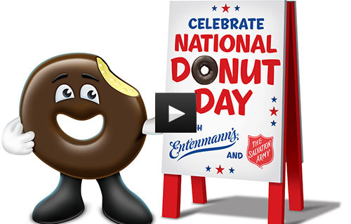 Entenmann's Red Velvet Donut Video