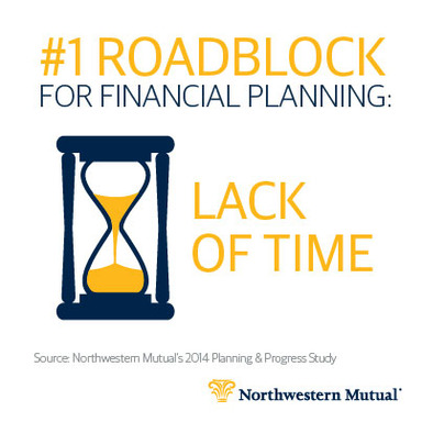 "Americans cite ""Lack of Time"" as the No. 1 roadblock for financial planning"