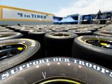 "Continuing its long history of supporting the men and women of the U.S. Armed Forces, the Goodyear Tire & Rubber Company, exclusive tire supplier of NASCAR's three major national series, has launched ""Goodyear Gives Back"""