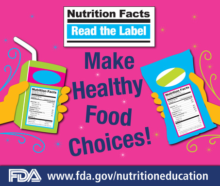 Read the Label: Get Your Food Facts First!