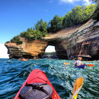 Pictured Rocks National Lakeshore, Courtney Kotewa