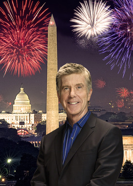 Our countrys favorite host, two-time Emmy Award-winning television personality Tom Bergeron leads the all-star salute to our countrys 238th birthday on A Capitol Fourth, airing live on PBS.