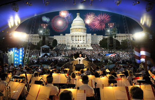 The 34th annual broadcast of PBS A Capitol Fourth, on Friday, July 4 at 8 pm features top pops conductor Jack Everly with the National Symphony Orchestra live from the West Lawn of the U.S. Capitol.