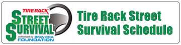 Tire Rack Street Survival Schedule