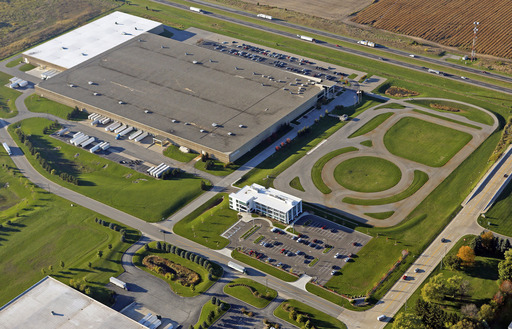 Tire Rack's state-of-the-art 11.7-acre test facility and headquarters in South Bend, IN