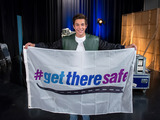 Austin Mahone teams up with The Allstate Foundation and its #GetThereSafe program to raise awareness for smart driving during Global Youth Traffic Safety Month in May, the start of the deadliest season for teen drivers.