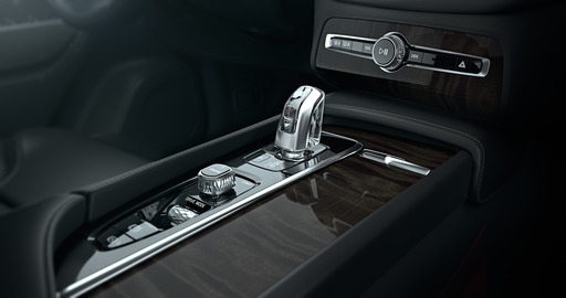 A huge amount of attention to detail has been applied to the All-New Volvo XC90, with details such as an Orrefors Crystal gear selector.