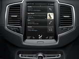 Seamless connectivity and smartphone content projection in coming Volvo models will be controlled by voice, steering wheel controls and by the portrait oriented touch screen.