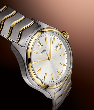 EBEL Wave Gent in stainless steel and gold