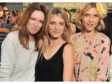Clare Waight Keller, Mélanie Laurent and Clémence Poésy