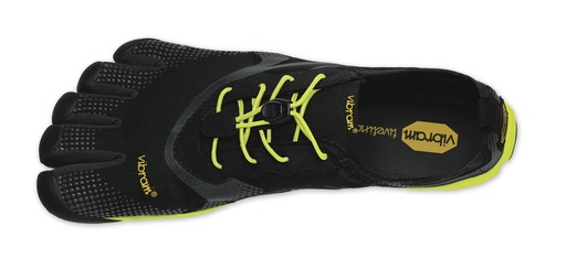 The new Bikila EVO, designed primarily for running and specifically for racing; the extra 2mm of protection in the sole allows the wearer to kick harder off the ground for speed and to relax more when traversing rougher surfaces.