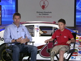 NASCAR driver David Ragan and Shriners Hospitals for Children want families to stay On Track for a Safe Summer