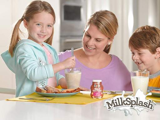 Quick and easy, MilkSplash™ just takes a splash and a stir to make drinking milk awesome! Visit milksplash.com.