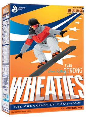 Evan Strong Wheaties Box 3D