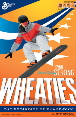 Evan Strong Wheaties Box