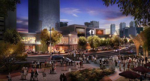 The Park will be complemented by an open-air dining & entertainment district as New York-New York and Monte Carlo undergo significant transformations to their Park-facing facade.