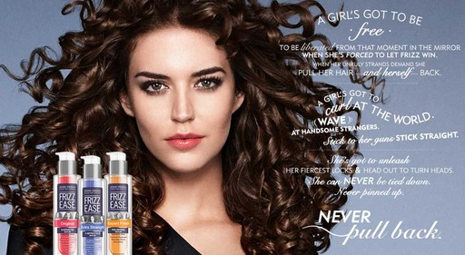 Never Pull Back With John Frieda Frizz Ease