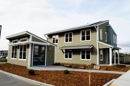 """Honda Smart Home U.S. opened its doors March 25, 2014 in Davis, California. The super-efficient """"living laboratory"""" seeks to address two major sources of U.S. CO2 emissions: cars and homes."""