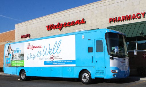 The Walgreens Way to Well Health Tour with NUL is delivering free health tests, assessments, education and consulting services to urban communities across the country.