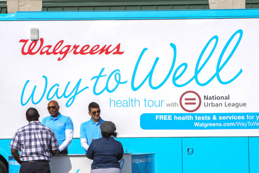 The free health tests offered at the Walgreens Way to Well Health Tour with NUL provide valuable insight into visitors' overall health and wellness.
