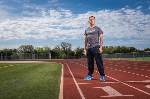 USA 1500m Olympic silver medalist Leo Manzano signs with HOKA ONE ONE shoe brand.