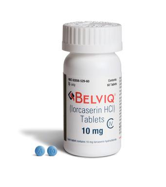 BELVIQ(R) (lorcaserin HCl) CIV Tablets