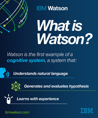 What is Watson? How Watson exemplifies a cognitive system