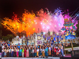 "Disneyland Resort Celebrates 50th Anniversary of ""it's a small world"" Global Sing-Along at Disney Parks."