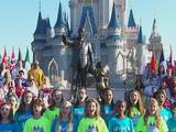 Sing-along at Walt Disney World