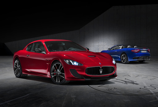 Maserati's GranTurismo MC Centennial Edition coupes and convertibles are inspired by Maseratis historic sports-luxury cars with authentic race-bred engineering.