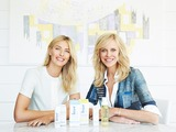 Maria Sharapova with Supergoop! Founder & CEO Holly Thaggard