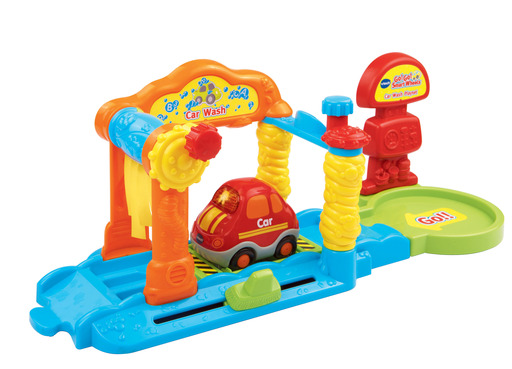 Spring into learning with the VTech® Go! Go! Smart Wheels® Car Wash Playset.