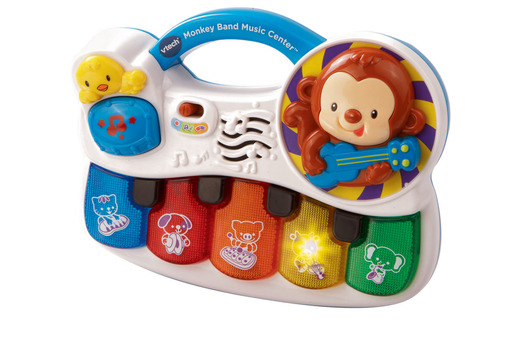 Spring into learning with the VTech® Monkey Band Music Center™.