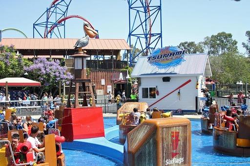Six Flags Discovery Kingdom's New Tsunami Soaker
