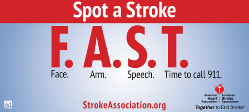 Stroke Outdoor PSA