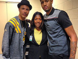 Paul George and Parents