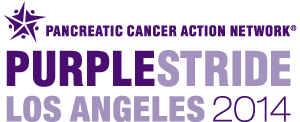 Logo to Purple Stride