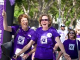 PurpleStride Los Angeles May 3, 2014 at Exposition Park
