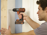 The BLACK+DECKER 20V MAX* Lithium Cordless Drill with AutoSense™ Technology has proven to be three times more accurate than a mechanical clutch