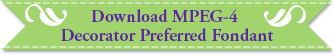 Download button for MPEG-4 for preferred Fondant
